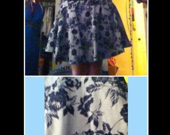 Rose pattern Skirt