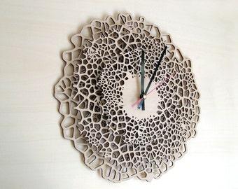 Big Giraffe clock - large wall clock