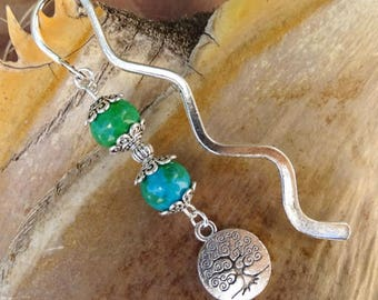 Tree of life bookmark, metal, ethnic