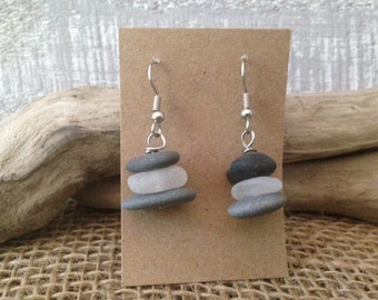 Beach Pebble Earrings