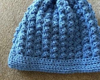 Lumpy Bumpy blue cap