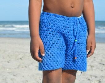 The kbiv Kids Crochet Shorts
