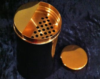 Ultra Stylish Sleek And Cool Copper And Steel Martini Shaker