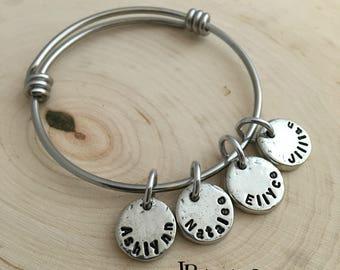 Name Charm ~ Mommy Bracelet ~ Mommy Necklace ~ Name Jewelry ~ JessicaBe ~ Additonal Charm ~ Kid's Names
