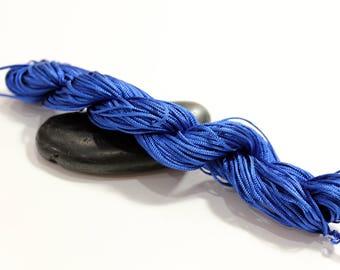 30 m cord nylon Royal Blue diameter 1.5 mm