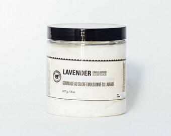 Lavender Emulsified Sugar Scrub