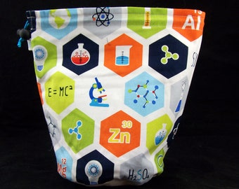 R/M/S/W Chemistry project bag
