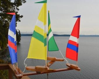 New(4) Boat larger Whirligig 2018