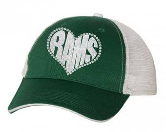 MMHS - Rams Heart Hat