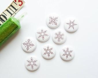 Snowflake - Mini Flair Set - Christmas