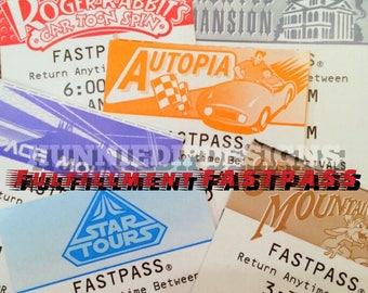 RUSH my order - Fufillment Fastpass
