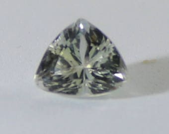Kunzite or Spodumene 6.45ct,February Birthstone,Trillion Shape,VVS/IF Clarity,Sourced from Afghanistan,