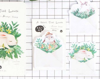 Bunny Sticky Notes • Rabbit Sticky Notes • Planner Supplies