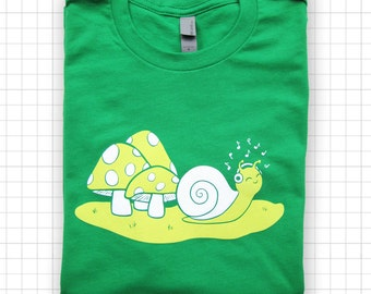 Snail Jams ADULT and YOUTH Size Unisex T-shirt