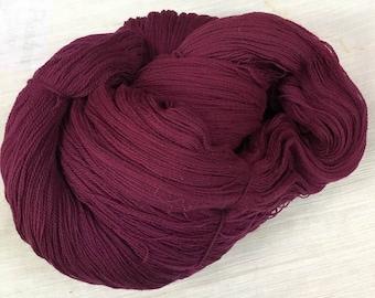 Merlot Lace Weight Yarn