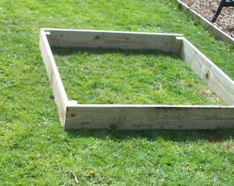 15cm high Tanalised wood Vegetable raised bed, herb planter, garden border