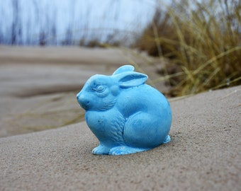 In Love with Hares / Stoneware Bunny / Rabbit / Vintage Bunny