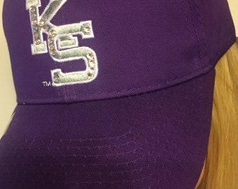 SWAROVSKI Kansas State blinged hat