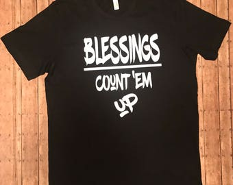 Blessings Count 'Em up Tee
