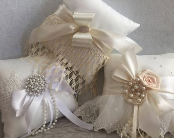 Wedding Ring Bearer Pillow, Bridal Wedding Accessories