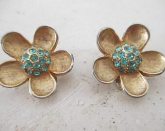 Weiss Flower Earrings