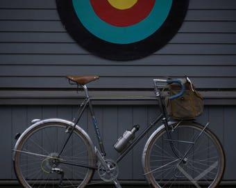 Vintage bikes always hit the target, Western Massachusetts