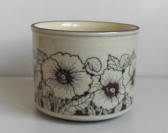 Hornsea 'Cornrose' sugar bowl