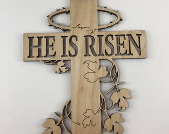 He Is Risen Sign