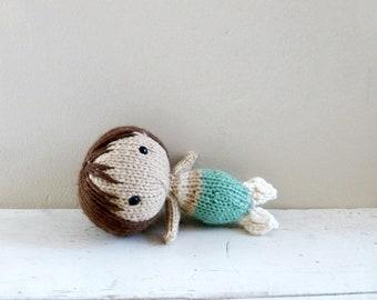 Cute stuffed animal, Mermaid Doll, Baby Doll, Ready to Ship - Mermaid Willa