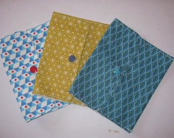 Pouch to store 6 wipes into your bag, its toiletry bag or a diaper bag