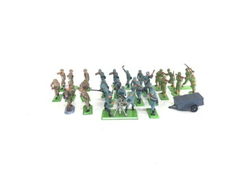 Britians ltd 1971 deetail army figures lot free shipping