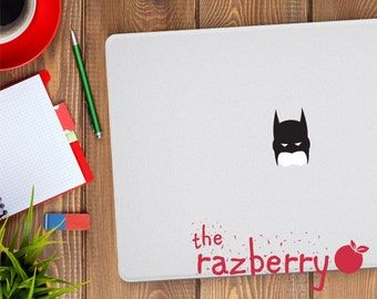 Batman Mask Macbook Decal Macbook Sticker Macbook Pro Macbook Air Batman Sticker Marvel DC Superhero Sticker VInyl Decal Superhero Decal