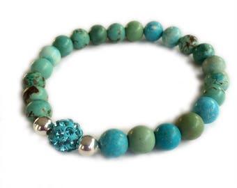 Turquoise Agate Bracelet