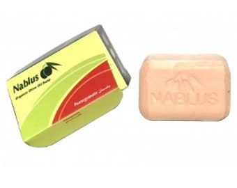 Nablus Organic Soap in Pomegranate