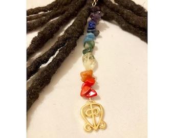 Dangle Bead Loc Jewelry Dreadlock #11