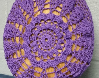 Sunny Morn Pattern Snood in Cotton Thread
