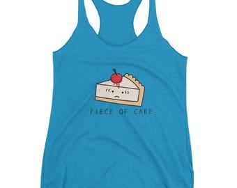 Piece of Cake - Cake - Women's Racerback Tank