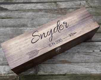 Wedding Wine Box, Wine box ceremony, first fight box, wedding wine ceremony, wedding gift, anniversary gift, shower gift, heart and arrow