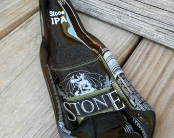 STONE IPA Melted Beer Bottle Spoon Rest