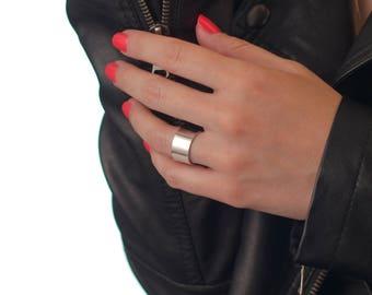 Silver Mirror Ring