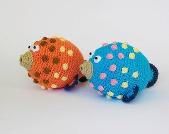 Amigurumi crochet pattern fish / crocheted fish / amigurumi fish / crochet pattern animals / fish / soft toy fish / pattern toy /