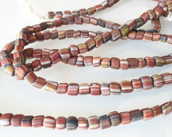 Set of 110 KROBO beads from Ghana 01