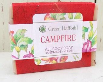 Campfire Bar of Soap - Green Daffodil