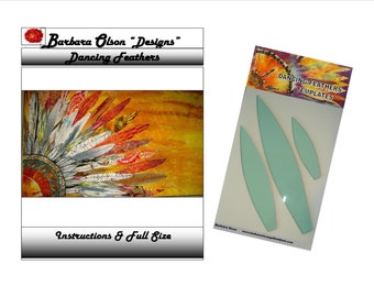 Dancing Feathers Pattern & Templates
