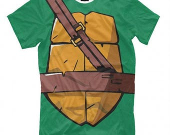 Ninja Turtles Full Print T-Shirt All Sizes