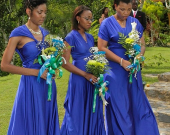usa  DISCOUNTS available Convertible Dresses for Bridesmaids /  Infinity Dress/  Bridemaids dresses /Floor length