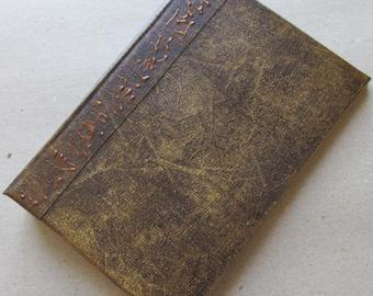 Refillable Journal Handmade Distressed Rustic Brown Original 6x4 traveller notebook
