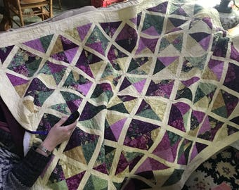 Quilt: Lightly Used Handmade Quilt - Made in Vermont