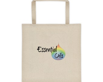 Essential Oil Tote Bag Essential Oil Bag Essential Oil Tote Essential Oil Canvas Bag Dottera Young Living Tote Bags Aromatherapy Tote Bag