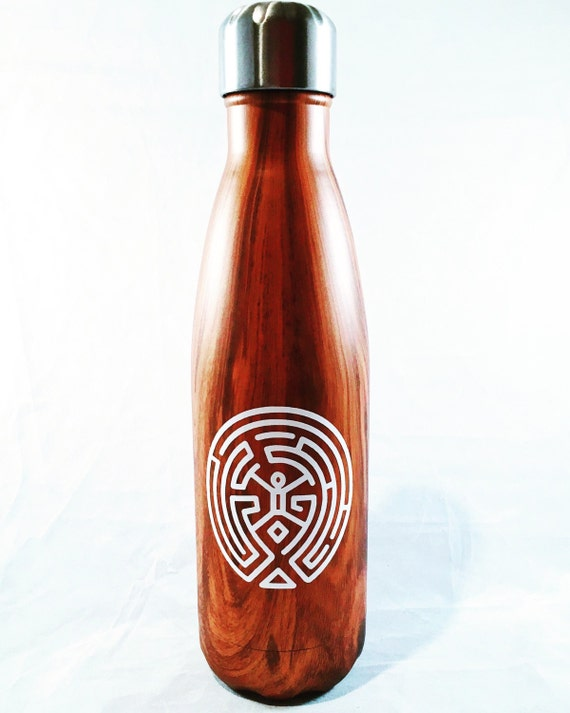 Westworld Teakwood S'well Bottle - Wedding, Christmas, Anniversary, Valentine's Day, Christmas, Bridesmaids Swell Bottle